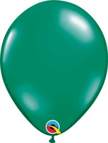 "Q (100) 5"" Jewel Emerald Green"