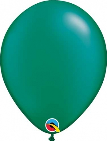 "Q (100) 5"" Pearl Emerald Green"