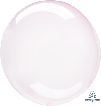 "18"" Crystal Clearz Light Pink Packaged"