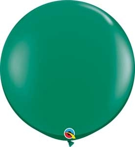"Q (2) 36"" Jewel Emerald Green"