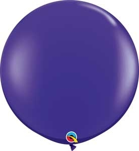 "Q (2) 36"" Jewel Quartz Purple"