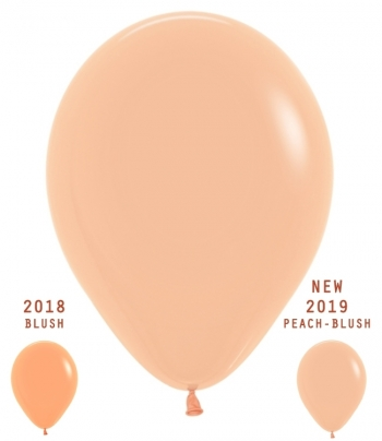 "BET (100) 5"" Deluxe Peach-Blush New"