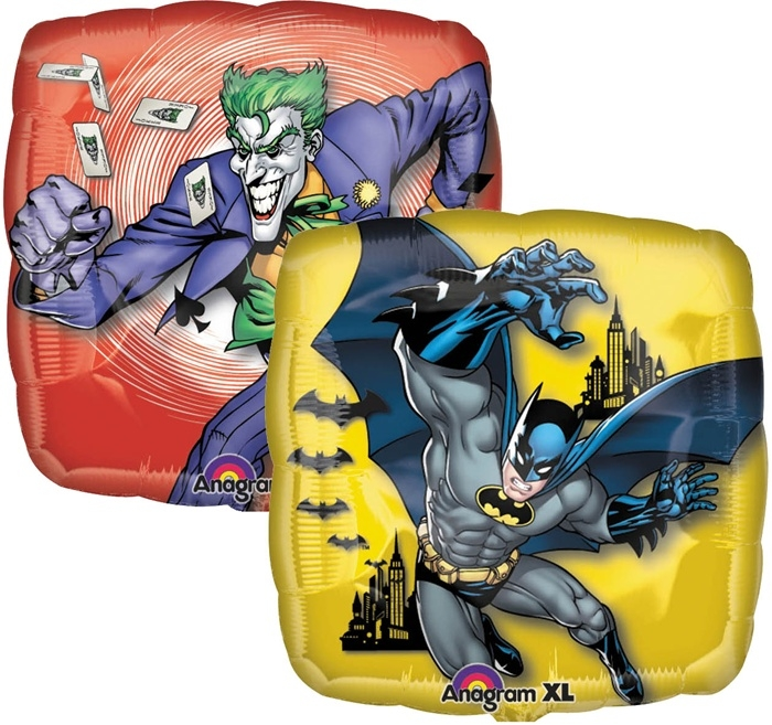 Anagram 17751 Batman /& Joker Foil Balloon Multicolored 18
